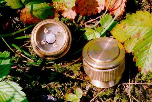 T3 pushbutton brass DNR5913