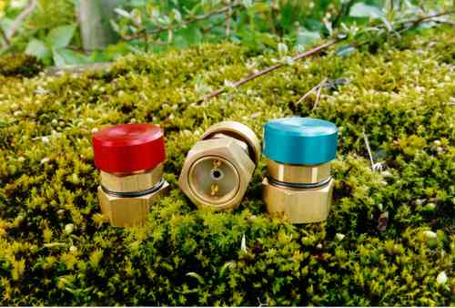 T2 metal push button brass